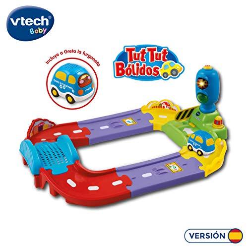VTech- Circuito Interactivo TutTut Bólidos, 28.2 x 27.9 x 13.5 (3480-127822) , color/modelo surtido