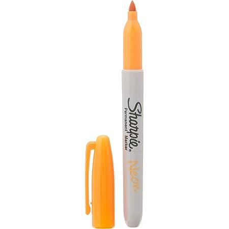 Sharpie Sharpie Neon Fine Point Permanent Marker Open Stock, Orange (1860446)