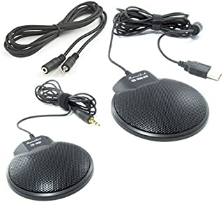 Sound Tech CM-1000USB & CM-1000 (pack of 2) Conference Meeting Microphone with 6 feet Extension Cord, Model: , Electronics & Accessories Store