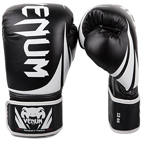 Venum Challenger 2.0 Boxing Gloves - Black/White -...