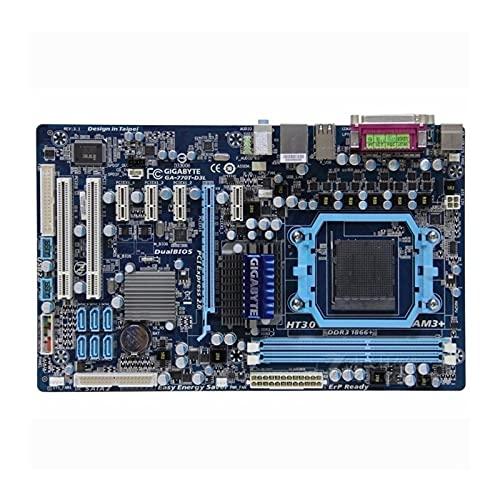 lilili Placa Base Placa Base para computadora Compatible Fit For Gigabyte GA-770T-D3L Placa Base de Escritorio Original usada 770T-D3L 770 Socket AM3 DDR3