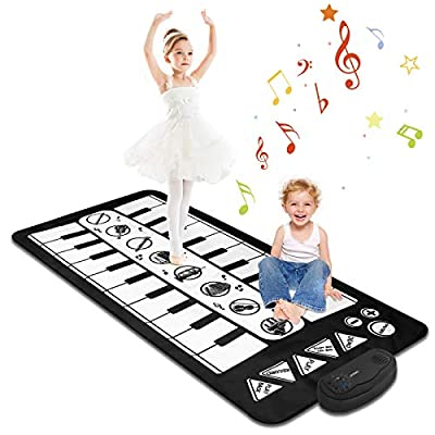M SANMERSEN Kids Piano Mat for Baby Boys Girls by