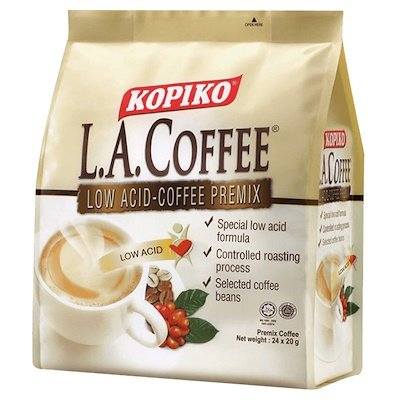 1 Pack Kopiko Low Acid Instant Coffee Good For Coffee Lovers With Gastric Disorder 24 Sachets 20g Per Sachet