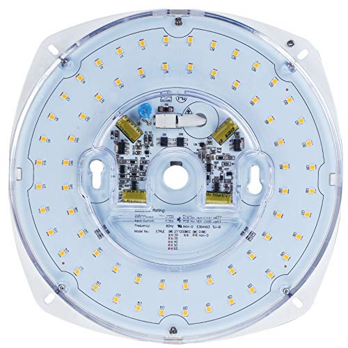 Silverlite 7' PCB Size,8.39' Overall Size,28W,5000K,2450LM,120V,CRI80,Dimmable LED Light Engine,Retrofit Light Kit for Ceiling Flush Light,Ceiling Fan Light,Pendant,Lantern,Garden Light, UL Certified
