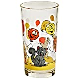 Longdrinkglas Wasserglas Trinkglas Nadia mit Motiv 250 ml H 12 cm Moderner Zeitloser Style