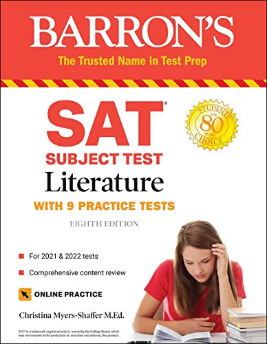 SAT Subject Test Literature: With Online Tests (Barron's Sat Subject Test Literature)...