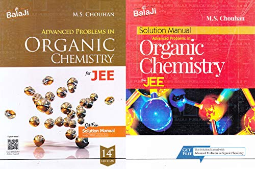 ADVANCED PROBLEMS IN ORGANIC CHEMISTRY FOR JEE 14 EDITION WITH SOLUTION 2021