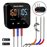 Best Bluetooth Meat Thermometers - Wireless Meat Thermometer Digital Bluetooth BBQ Thermometer APP Review