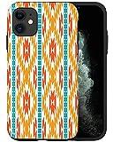 CASFY - Funda para teléfono compatible con iPhone 11, Navajo Pattern KU109_3, diseño de moda, diseño de moda, accesorios de teléfono
