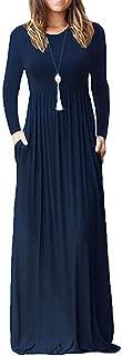 Best navy maxi dress casual Reviews