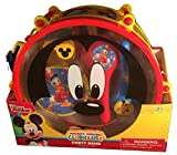 Disney Mickey Mouse Clubhouse Mickey's Party Band 10 Piece Set Music Instruments: Drum & Sticks,Flute,Castanets,Tambourine,Maracas,Whistle