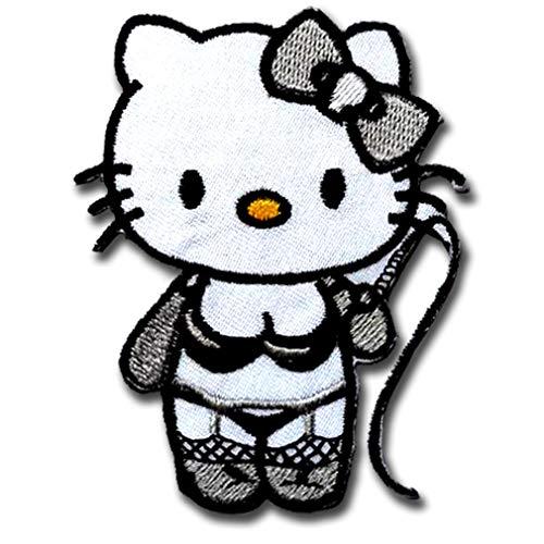 Verani Sexy Hello Kitty Patch Embroidered Iron on Cartoon Kids Sew Kero Keroppi Sailor Moon Moomin