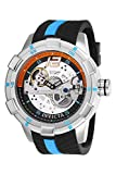 Invicta Men's S1 Rally Stainless Steel Automatic-self-Wind Watch with Silicone Strap, Black, 24 (Model: 26618)