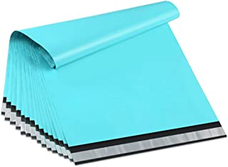 UCGOU 12x16 Inch Teal Poly Mailers 2.35MIL Premium Shipping Envelopes Mailer Self Sealed Mailing Bags with Self Adhesive Strip Waterproof and Tear-Proof Postal Bags 100Pcs