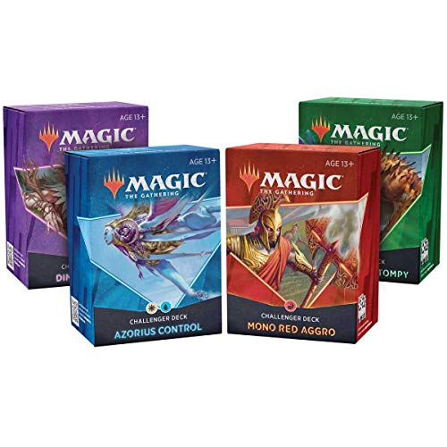 Magic the Gathering TCG MTG Challenger Deck 2021 EN, Bundle