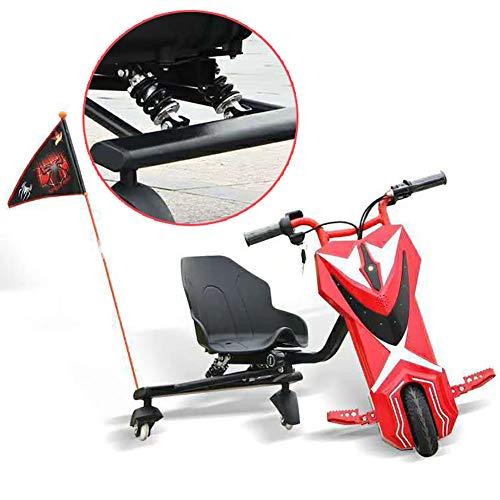 Fly Electric Scooter Kickroller Elektro Motor Dreirad Electric Go Kart Scooter 3-Rad 360 Dreirädrige Kraft Reiter Mit Doppelter Federstoßdämpfung Kinder Jungen Und Mädchen