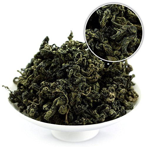 GOARTEA 1000g (35.2 Oz) Premium Organic Seven Leaf Jiao Gu LAN Jiaogulan Flower Gynostemma Chinese Herbal Green Tea kruiden thee