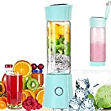 Portable Mini Blender Personal Juicer Cup Travel Smoothie Maker with 3D 6 Blades ,Wireless USB...