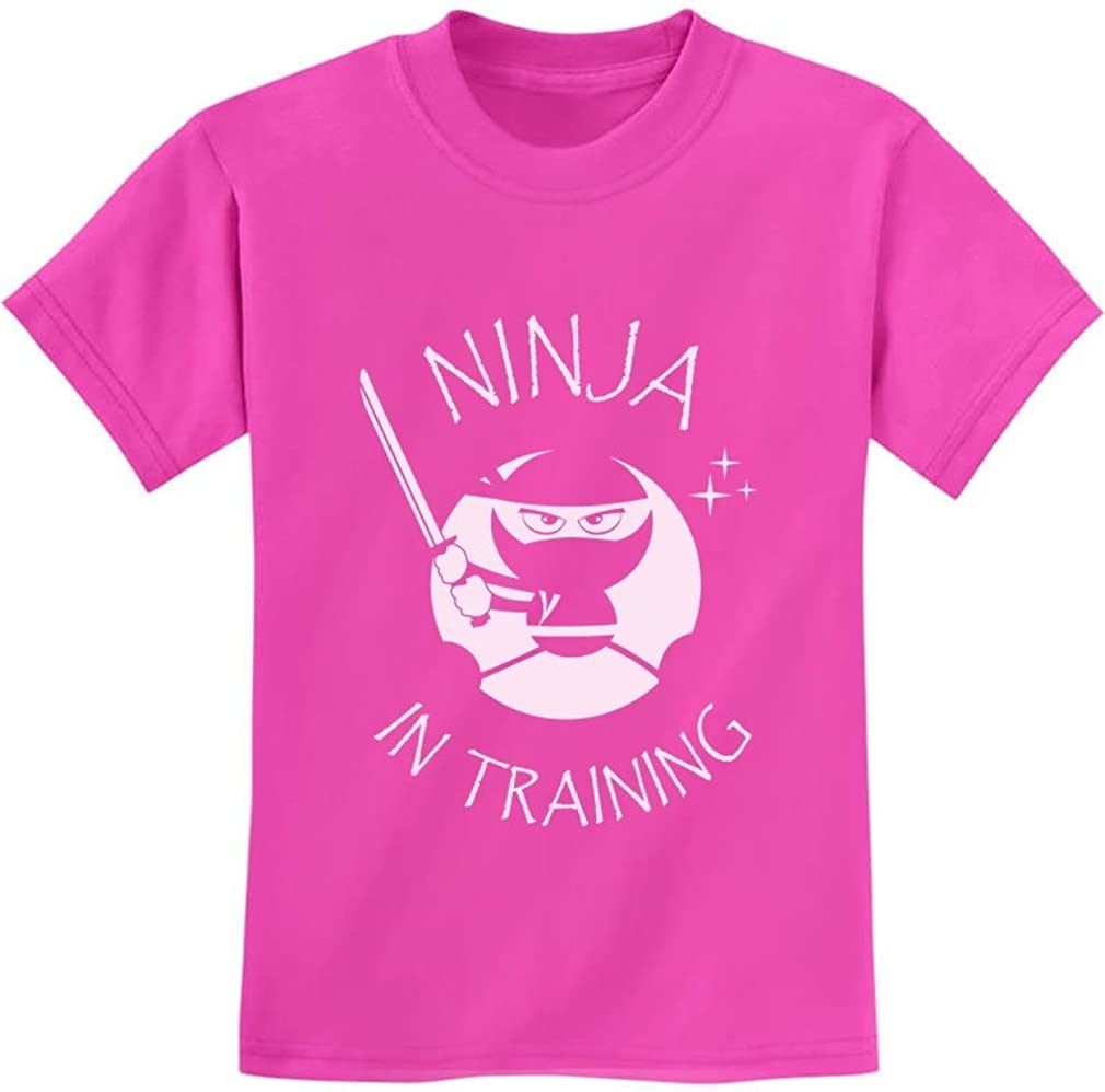 Ninja in Training Shirt Cool T-Shir Cheap bargain Children Kids Funny Our shop OFFers the best service Clothing