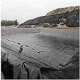 N / A Teichfolie Pond Liner EPDM Teichfelle für Fischteiche, Bachbrunnen und Wassergärten Teichfelle Teichfolie, schwarz, 1m 2m 3m 4m 5m 6m(Size:7x7m)