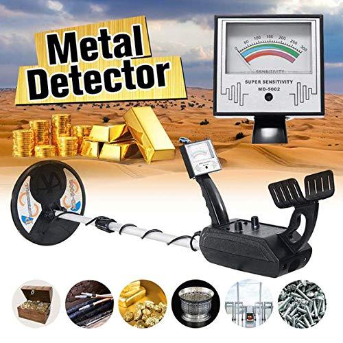 Detector de metales adultos MDndash; 5002 del metal inteligente completo con impermeable Seah de la bobina y la discriminación Pantalla LCD de la función del tronco ajustable de alta sensibilidad for