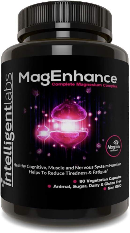 Intelligent Department store Max 88% OFF Labs MagEnhance Supplement Magnesium-L-Th Magnesium