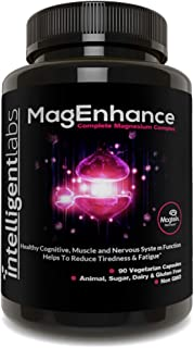 MagEnhance Best Magnesium Supplement, Magnesium-L-Threonate Complex, with Magnesium Glycinate and Taurate | Brain, Heart, ...