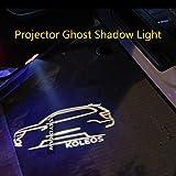 1 par KOLEOS Logo (2016-2019) QM6 coche LED puerta luz de advertencia luz proyector fantasma sombra luz