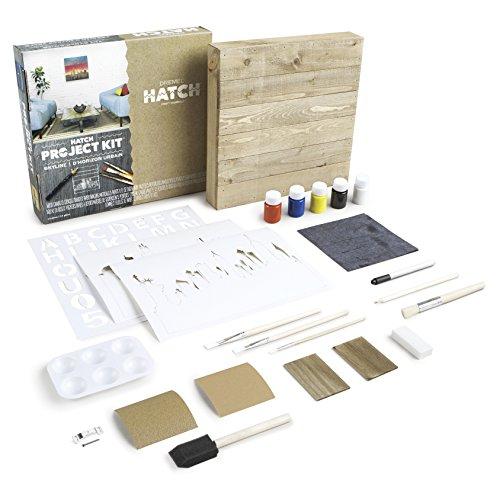 Dremel Hatch Project Kit- Skyline Pallet Art