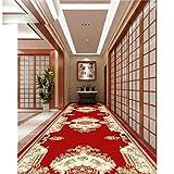 DAERG Simplicité Moderne Couloir Couloir Grands Tapis Hôtel Cinq étoiles Tatami antidérapant Tapis Personnalisables Chambre à Coucher Tapis de Salon, Style 3,100x400cm
