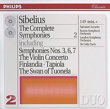Sibelius: The Complete Symphonies, etc., Vol.2