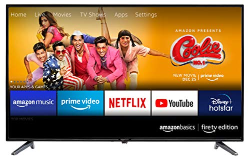 AmazonBasics 109cm (43 inches) Fire TV Edition Full HD Smart...