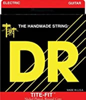 【 並行輸入品 】 DR Strings エレキギター - Tite-Fit Nickel Plated Half-Tite, .095-.044, HT-9.5