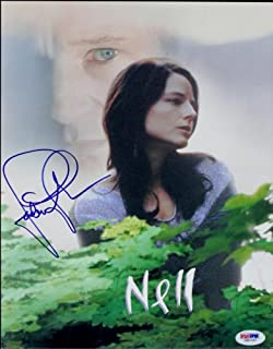 Jodie Foster Authentic Signed Nell Program Autographed PSA/DNA #I85707