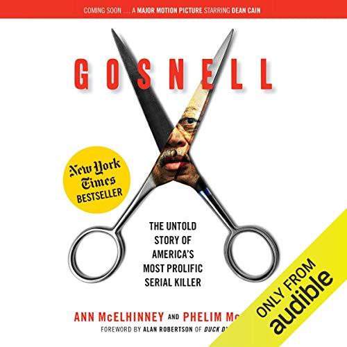 Gosnell audiobook cover art