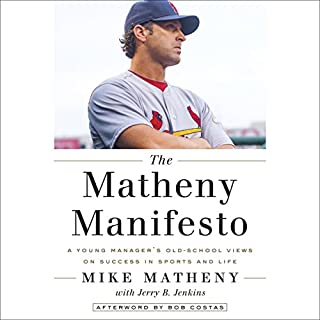The Matheny Manifesto audiobook cover art