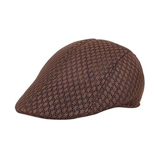 LKK-KK KANCOOLD Tapa de Hatsune Miku Cubo  Los Hombres de Malla Transpirable Sombrero Newsboy Sombreros Casual Caps Beret Guantes PFET4 (Color : B, Hat Size : One Size)