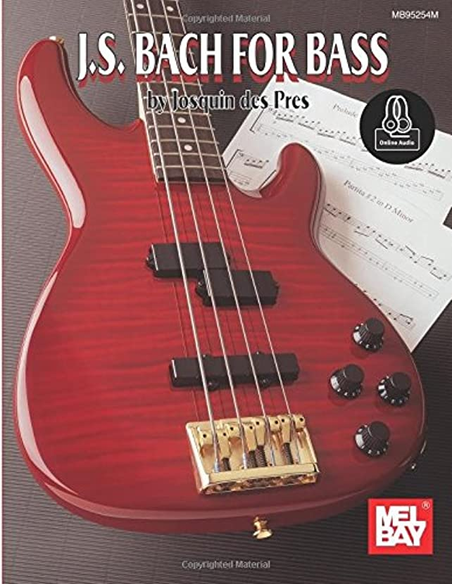 利益クック共同選択J. S. Bach for Bass: Includes Online Audio