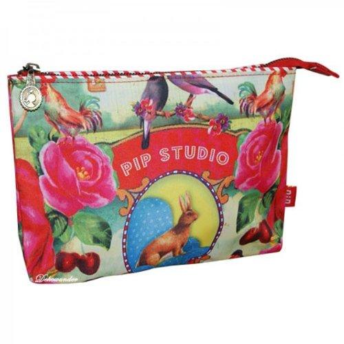 PIP Studio Pencilcase Stifteetui Make up Tasche Flat XL Federmappe Etui Fruit & Veggie