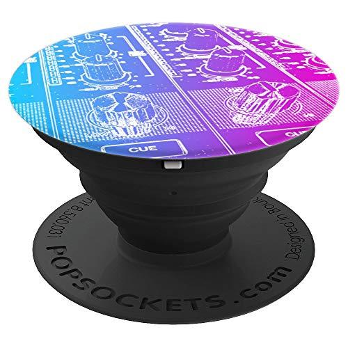 DJ-Mixer Knobs - PopSockets Ausziehbarer Sockel und Griff für Smartphones und Tablets