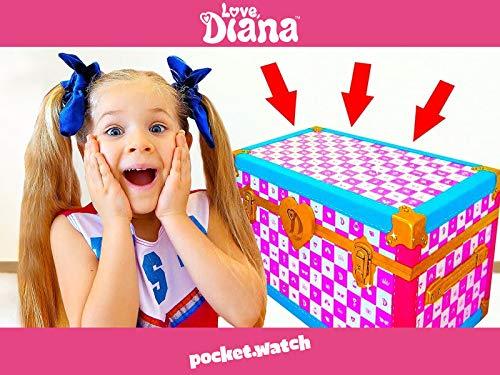 The Perfect Dress in Diana's Magic Trunk!
