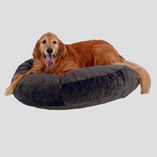 Nfudishpu Soft Dream Round Pet Bed Lazy Sofa Particles Leisure Dog Bed