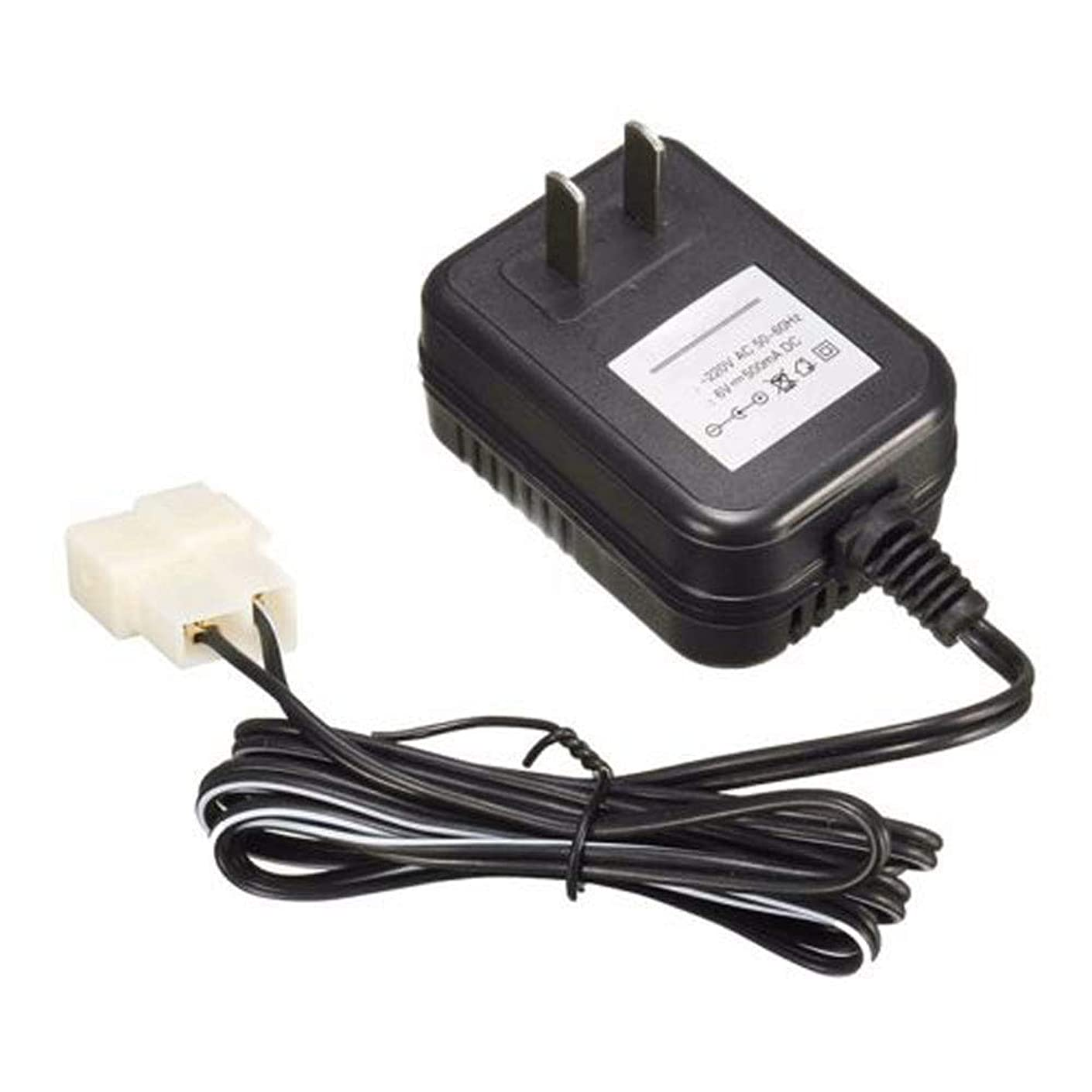 Livoty Charger,6V Wall AC Adapter Charger Power Supply for Kid TRAX ATV Quad Ride On Car IN9