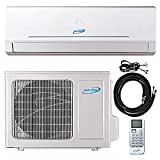 12000 Btu 22 SEER Ductless Mini Split DC Inverter Air Conditioner Heat Pump System 208-230 Volt with 15ft Kit (12000 Btu)