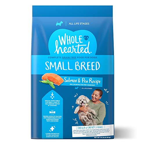 WholeHearted Grain-Free Small Breed Salmon and Pea