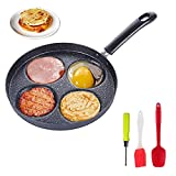 Best Egg Pans - Four-cup egg pan, medical stone non-stick frying pan Review