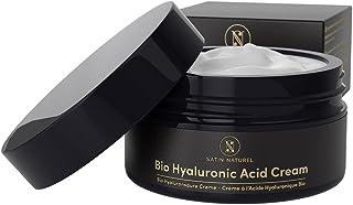 Crème Hydratante Visage Bio à L'Acide Hyaluronique - Format 2x PLUS GRAND 100ml- Soin pour Femme Anti-Âge à L'Aloe Vera - ...