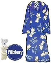 ピルスベリー [ポッピンフレッシュ(ドゥーボーイ)] 着衣型ブランケット Pillsbury [POPPIN' FRESH/doughboy] COZY THROW [並行輸入品]