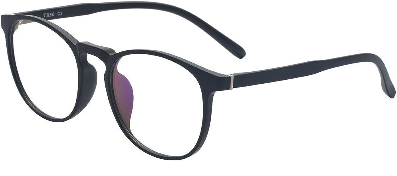 ALWAYSUV Oval TR90 Frame Business Clear Lens Glasses Prescription Glasses Frame