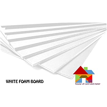 House of Karte & Papier hcp401 A1 840 x 594 x 5 mm Foam Board – Weiß